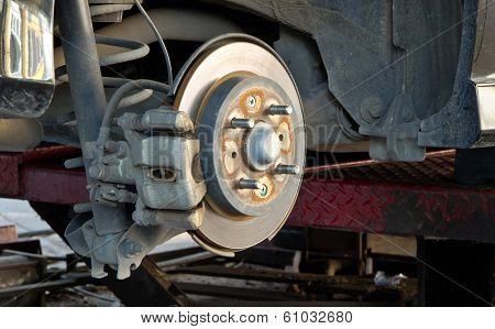 Brake Disk And The Wheel Assembly