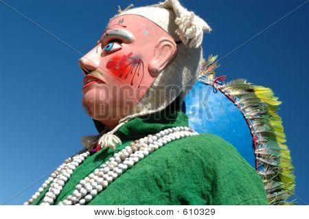 Native Mask Dancer