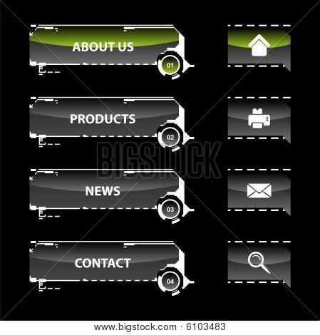 Navigation Webvorlagen