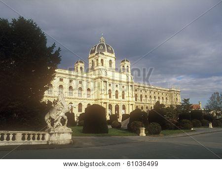 Natural History Museum In Vienna, Austria.