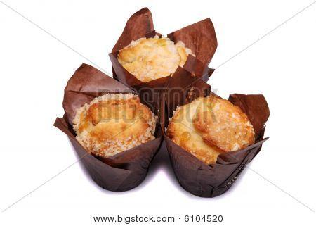 Three Lemon Muffins
