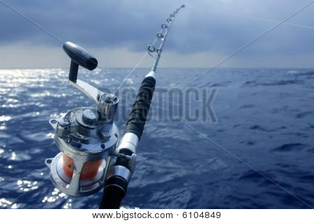 Big Game Fishing In Deep Sea