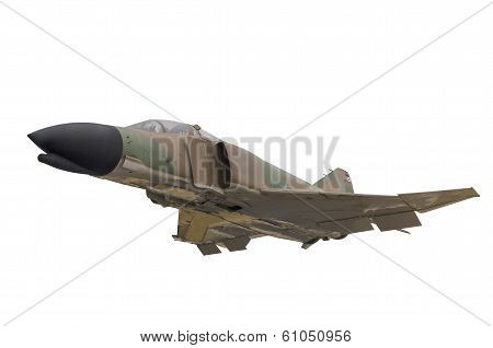 Military Jet Isolated