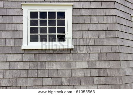 white pane window