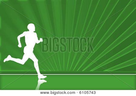 Runner background