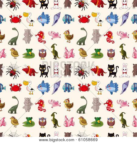 Seamless Animal Pattern