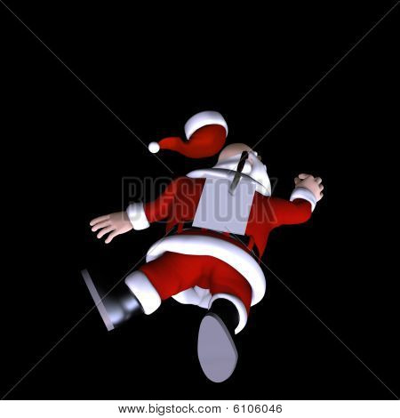 Santa Stabbed In The Back