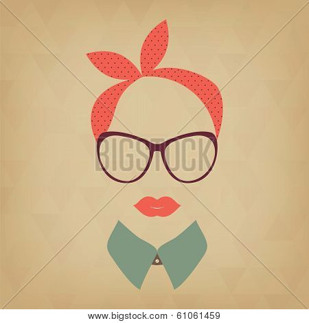 Hipster   Lady