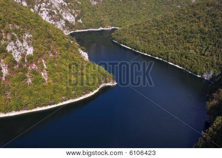 Bocac Lake On Vrbas River, Banja Luka, Republika Srpska, Bosnia