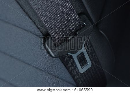 Car seatbelt buckle