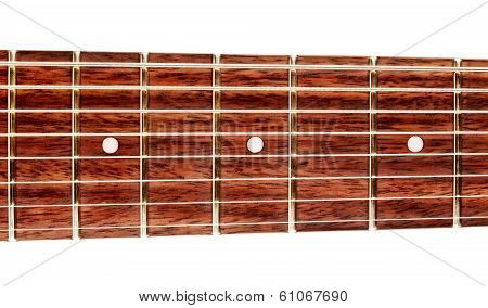 Eight-Strings Guitar Fretboard