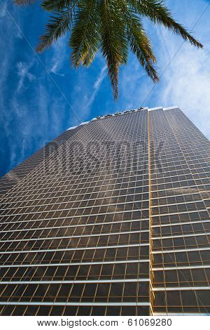 Las Vegas - July 11: The Trump Hotel Las Vegas.this 64 Story Hotel Has Exterior Windows