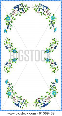 multicolor tablecloth