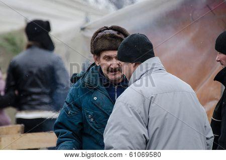 Ukraine Euromaidan In Kiev