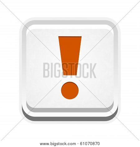 The Warning Sign Button
