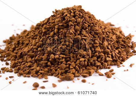 Pile Of Coffee Granules