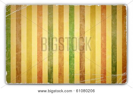 An Antique, Vintage, Grunge, Card, Paper Background with Stripe Pattern