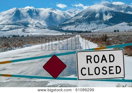 Mountain Road Closed