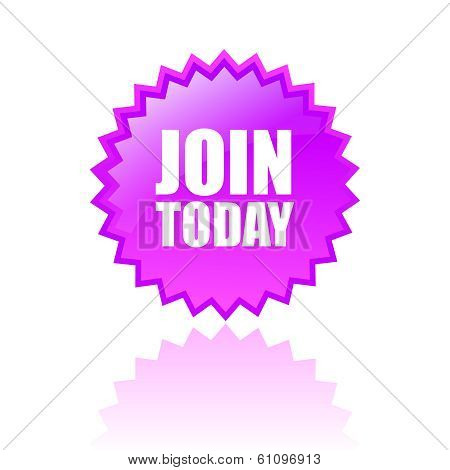 Join today vector star
