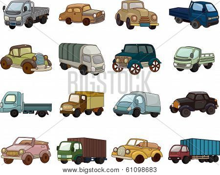 Set Of Trandport Car Icons