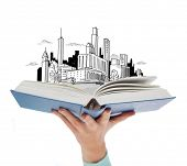 foto of sketch book  - education and book concept  - JPG