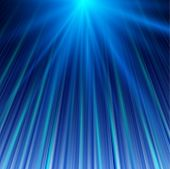 Blue magic abstract background