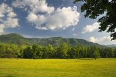 pic of cade  - A scenic view of Cades Cove in Great Smoky Mountains National Park Tennessee USA - JPG