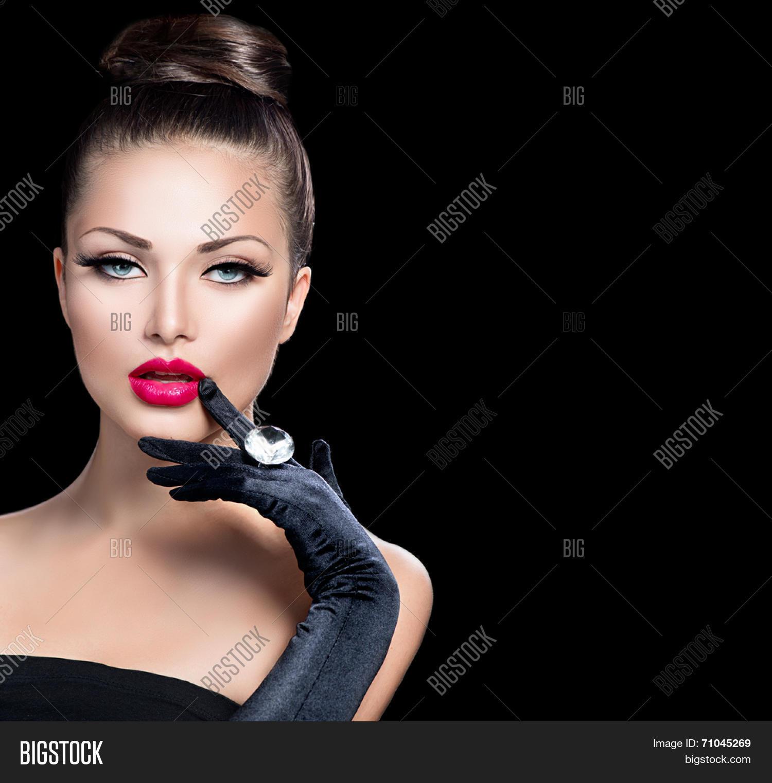 Beauty Fashion Glamour Girl Image & Photo