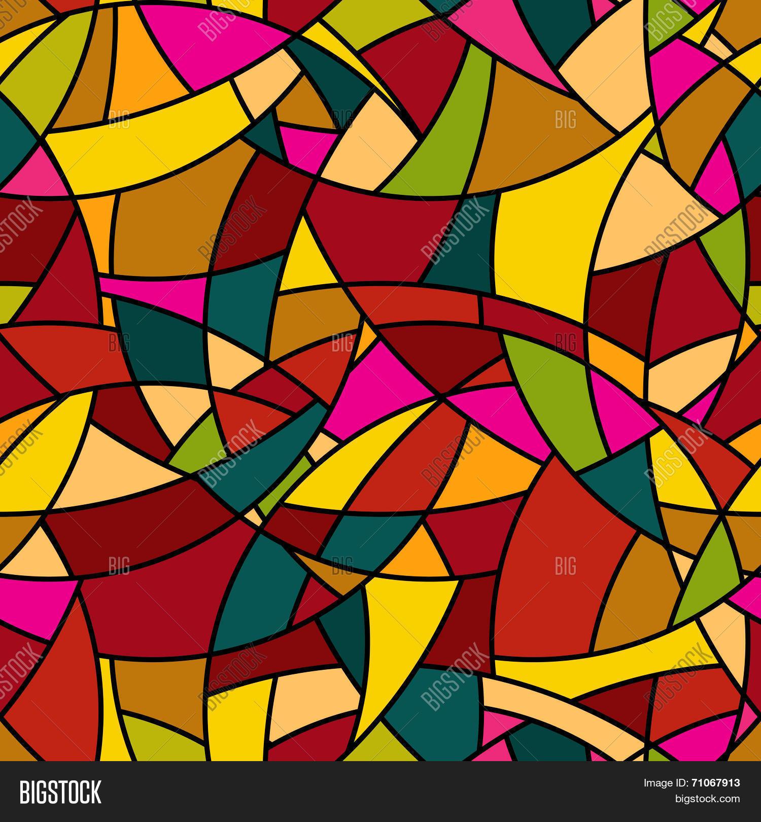 Vector Seamless Pattern Abstract Vector Photo Bigstock