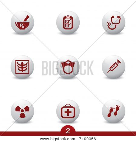 Medical icons series 2