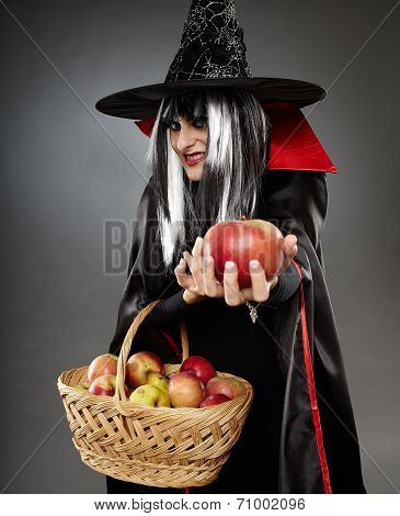 Sorcerer Offering A Poisoned Apple