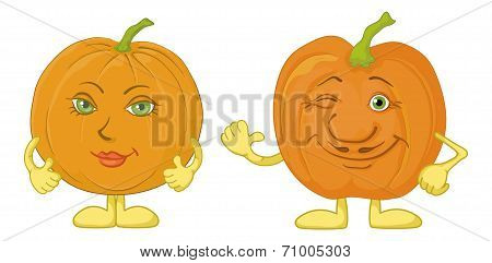 Pumpkins character