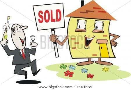 Real estate cartoon