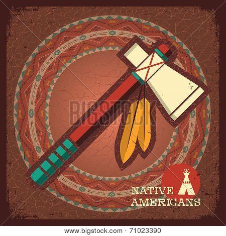 Indian American Tomahawk