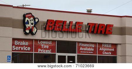 Belle Tire Ann Arbor Storefront