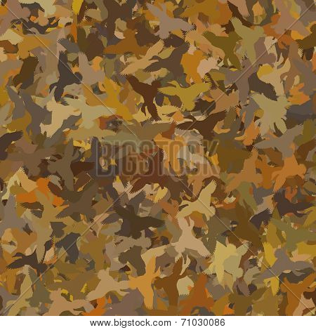 Duck Camouflage - Brown / Swamp