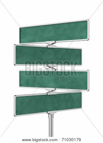 Roadsigns Board Isolated