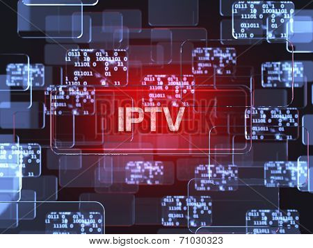 Iptv Screen Concept