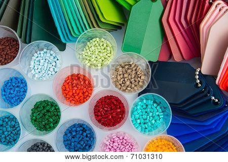 Plastic Polymer Granulate
