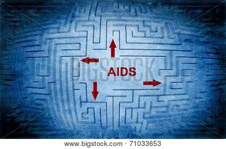 Aids Maze Concept