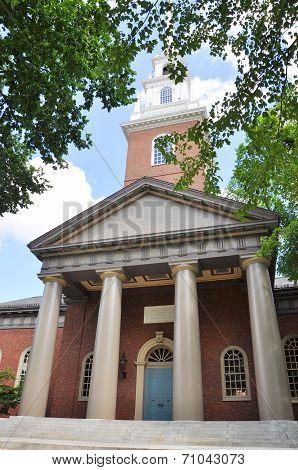 Memorial Church, Harvard University, Cambridge, MA