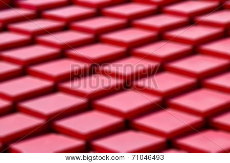 Abstract Disfocused Of Red Background