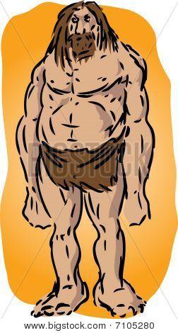 Caveman Illustration