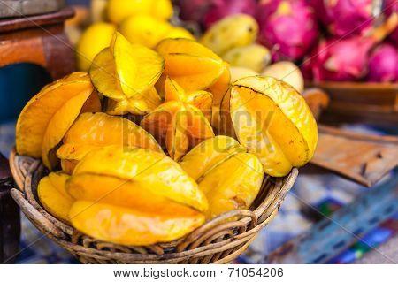 Starfruit Basket