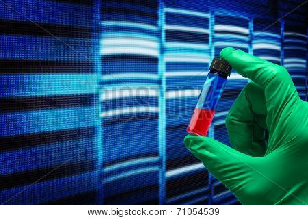 research of the sequence of the genetic code