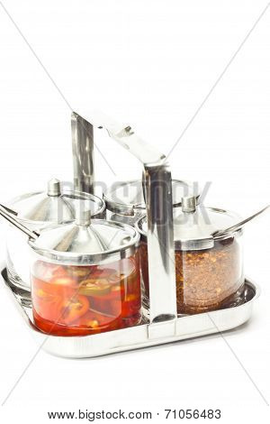 the stainless ware