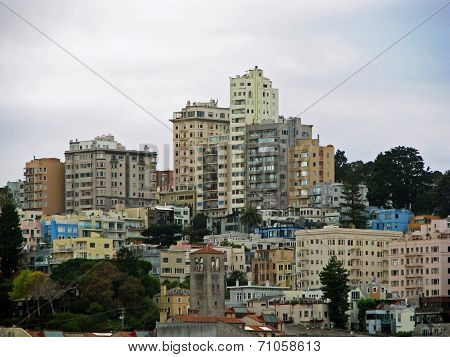 Cityscape San Francisco California