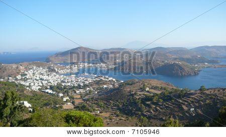 Panoramic Of Patmos