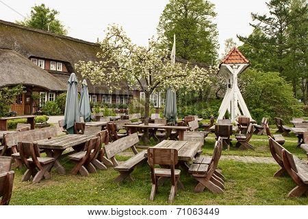 Rustic Outdoor Cafe