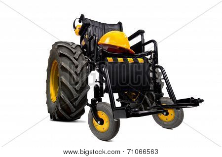 Constructor Wheelchair